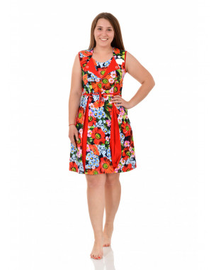 Платье женское М0238(Г) ,кулирка , р.(46-56)