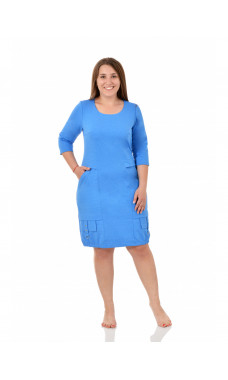 Платье женское М0600(Г) , футер+лайкра , р.(46-56)