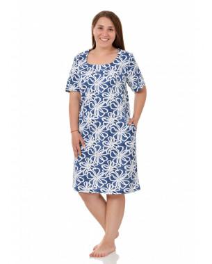 Платье женское М0605(Г) , кулирка(кабартма) , р.(50-60)