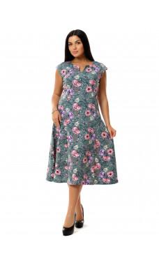 Платье женское П-02 , кулирка , р.(48-62)