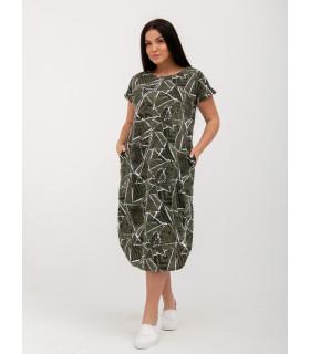 Платье П-11 , кулирка , р.(48-62)