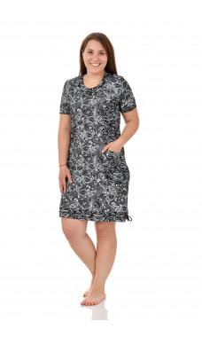 Платье женское  М0111-2 , кулирка(кабартма) , р.(46-60)