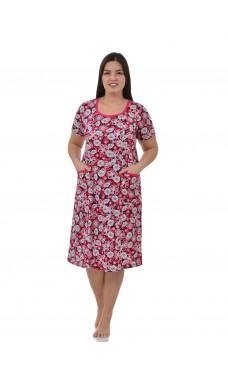 Платье М0062 (Г) (р.44-70),кулирка