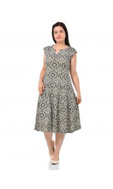 Платье П-02 ,кулирка, (р.48-62)
