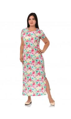 Платье П-017 ,кулирка (р.46-60)