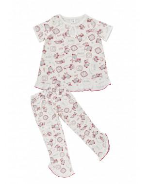Пижама для девочек , Кулирка, р.(110-158)